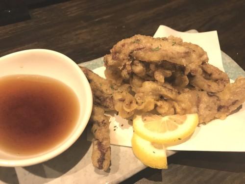 牛タンの天ぷら1